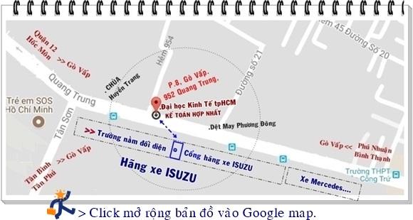 Địa chỉ học kế toán 952 Quang Trung, P8, Quận Gò Vấp